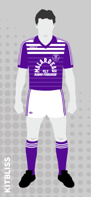 Toulouse 1984-85 home