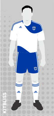 Finland home 2010-12 by Adidas