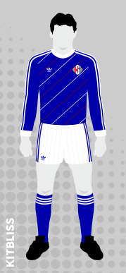 Iceland (home) 1986-87 by Adidas