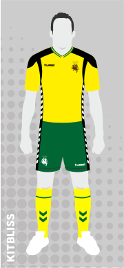Lithuania (home) 2016-17 by Hummel