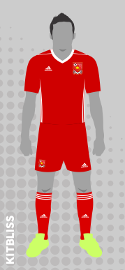 Papua New Guinea (home) 2016-17 by Adidas