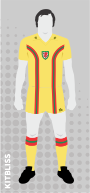 Wales 1976-80 away