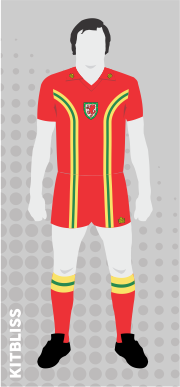 Wales 1976-80 home