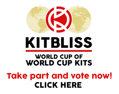 Image showing logo of the Kitbliss World Cup of World Cup Kits
